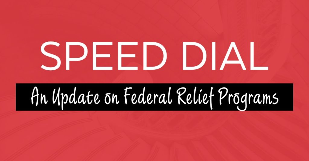 Covid 19 An Update On Federal Relief Programs The Lawyers Of Harrison Pensa