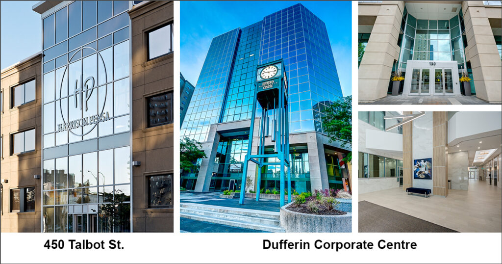 Harrison Pensa moves to Dufferin Corporate Centre in Downtown London.